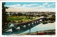 Bird's Eye View of Norristown, Pa. Postcard