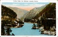 Cariboo Bridge Near Spuzzum, Canadian Rockies Postcard