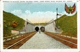 Entrance to Michigan Central Railroad Tunnel Postcard
