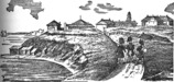 Fort York (Toronto) in 1841