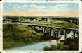 Glen Ridge and New Cement Bridge, St. Catharines, Ont. Postcard