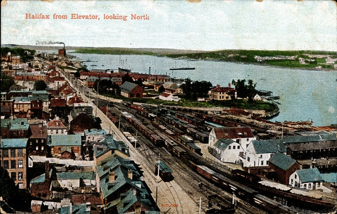 [Halifax From Elevator, Looking North Postcard]