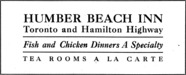 Humber Beach Inn Advertisement