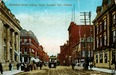 Richmond Street Looking South, London, Ont., Canada Postcard