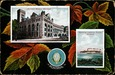 Windsor Station, Montreal/Shooting Lachine Rapids, Montreal Postcard